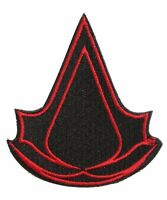 Assassin's Creed Logo Licensed Embroidered Sewn/iron On Premium Patch 3.5