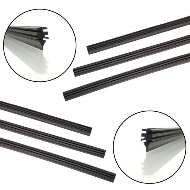 6 x 700mm Wischergummis für BOSCH ™ AEROTWIN ™ Ersatzgummi Scheibenwischergummi