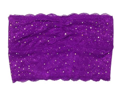 VICTORIA/'S SECRET PINK BANDEAU BRA TOP STRAPLESS WIRELESS WIRE FREE BRALETTE