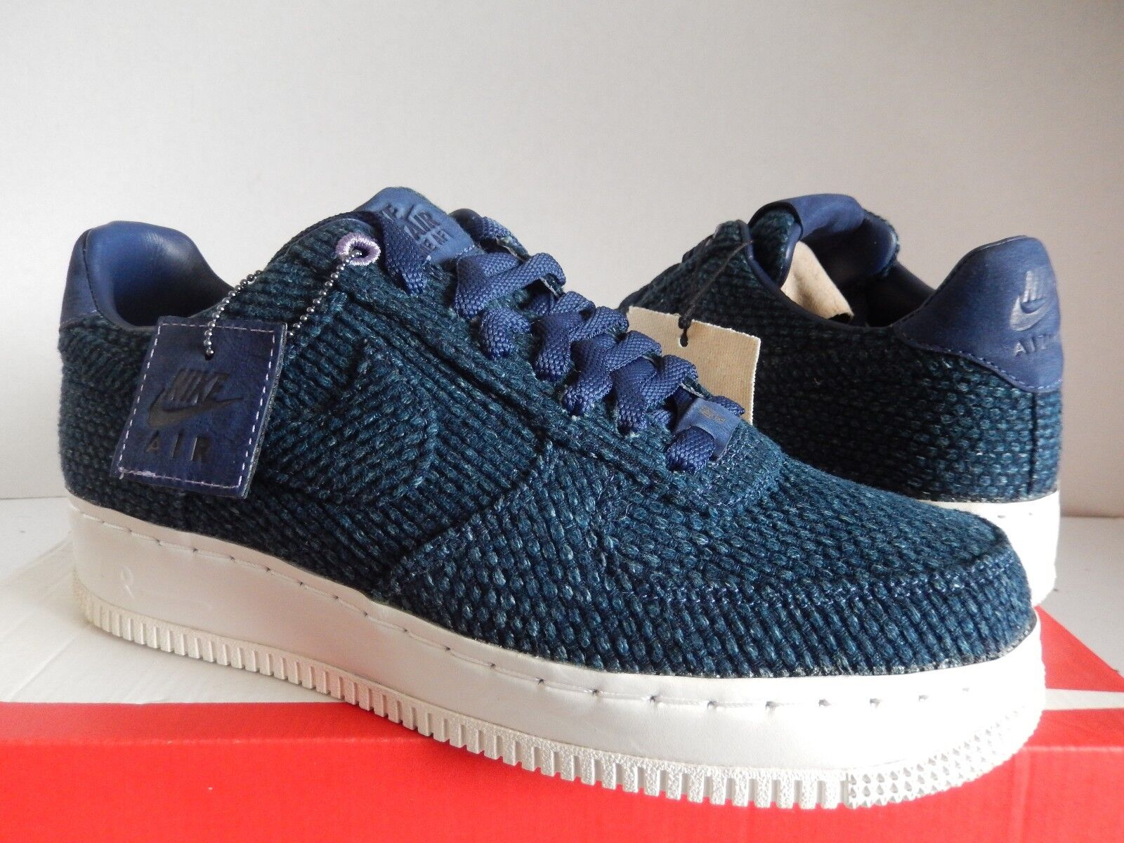nike air force japan 1 niedrige aizome sashiko japan force blau sz 10 selten!! 4c83ca