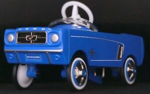 1964-Mustang-Ford-Pedal-Car-Vintage-Metal-gt-gt-gt-6-1-2-Inches-in-Length