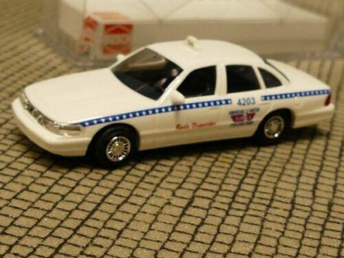 1//87 busch Ford Crown Victoria United Taxi Company estados unidos 49009