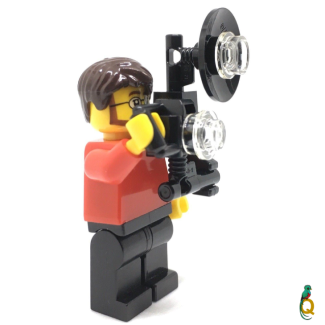 LEGO City Holiday Maker Photographer Camera Man Minifigure /& Camera City