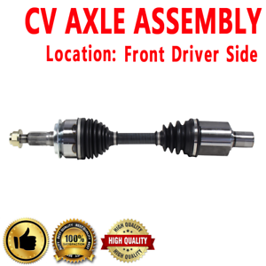 FRONT LEFT Driver Side CV DRIVE AXLE SHAFT ASSEMBLY For CADILLAC DEVILLE DTS