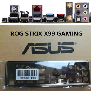 1pc NEW Original io i//o shield backplate for ASUS ROG STRIX X99 GAMING