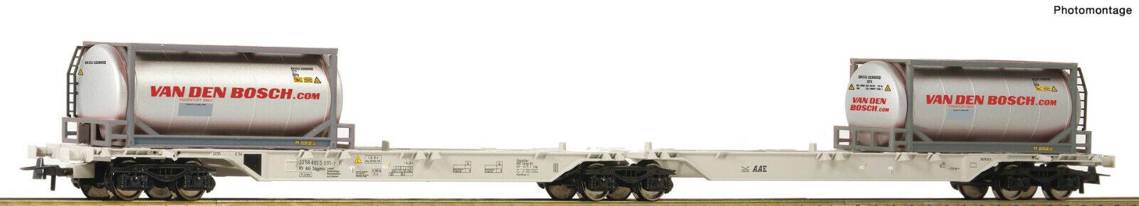 moda Roco H0 76632 Container-Doppeltragwagen    Van Den Bosch  la Aae - Nuevo +  la red entera más baja