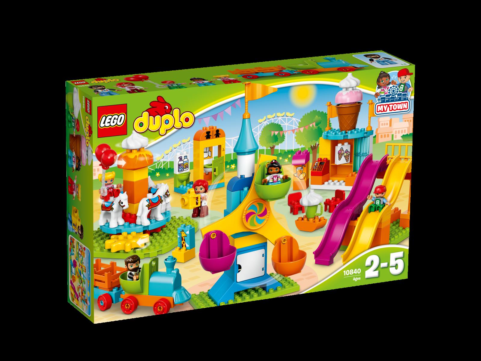LEGO ® DUPLO ® 10840 grande fiera NUOVO OVP _ BIG Fair NEW MISB NRFB