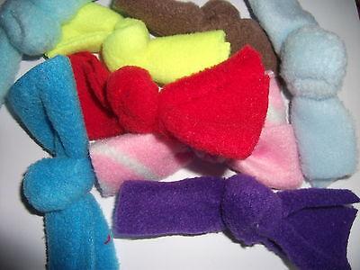 6 ~KwayzeKatz™  VALERIAN Knots Best Cat nip Alternative  Fun Toys kNOTTIES™