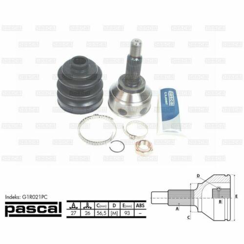 Gelenksatz Antriebswelle PASCAL G1R021PC