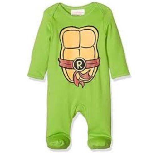 Mothercare Teenage Mutant Ninja Turtle Babygrow 0-3 Months Romper BNWT