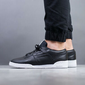 a486171e253a4c Image is loading MEN-039-S-SHOES-SNEAKERS-REEBOK-WORKOUT-LO-