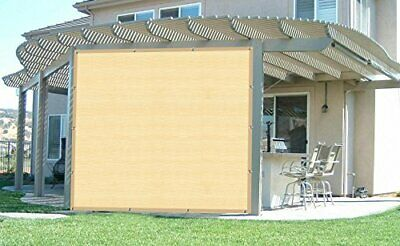 90% Fabric Sun Shade Cloth with Grommets for Pergola Cover ...