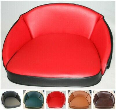 McCormick Traktorkissen Sitzkissen Sitz Trecker rot mit Logo