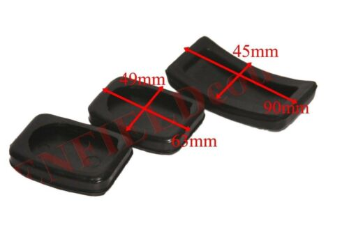 Pedal Pad Rubber Set Brake Clutch Accelerator Suits Suzuki Samurai Gypsy GEc