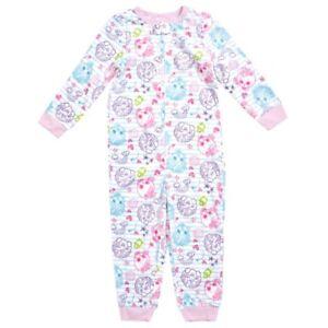 d46711d997 Shopkins Girl Rainbow One Piece Fleece Blanket Sleeper Pajama PJ Set ...