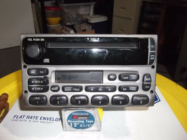 Ford Explorer F250 F350 F450 Ranger Mercury Super Duty Radio Cd Rhebay: Ford F450 Radio At Gmaili.net