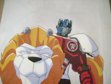 TRANSFORMERS BEAST WARS II 2 LIO CONVOY ANIME PRODUCTION CEL 8