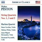 Walter Piston: String Quartets Nos. 1, 3 & 5 (CD, Aug-2010, Naxos (Distributor))