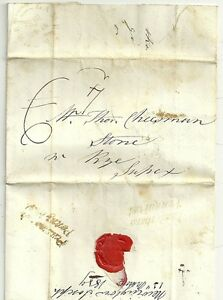 1839-PEASMARSH-amp-LAMBERHURST-PENNY-POSTS-ON-LETTER-TO-RYE-EXTRA-1d-LOCAL-CHARGE