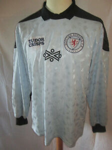 Scotland-Schools-FA-Match-Worn-Goalkeeper-1987-Football-Shirt-with-COA-9674