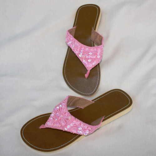 Nobile dita dei piedi sandali infradito sandali Clogs Rosa Tg. 38/39/40/41