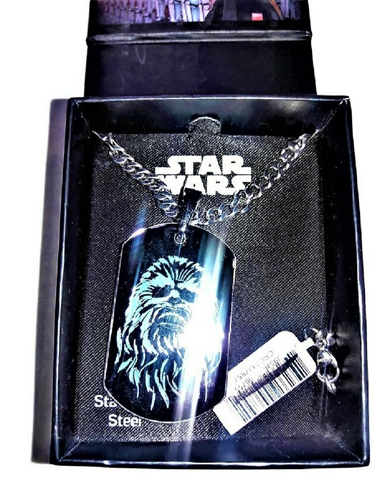 Star Wars Chain and Pendant (Dog Tag - Stainless Steel) and Collectors Box