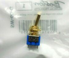 black 6 Pins Mini Switch Allparts Schalter On-On