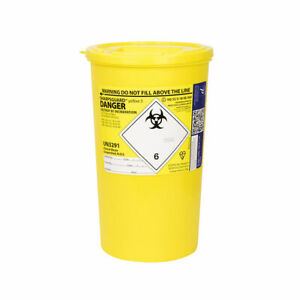 SharpsGuard-Sharps Bin 5Ltr-Sharps Container-Medical Lab-Healthcare-Razor-Crafts
