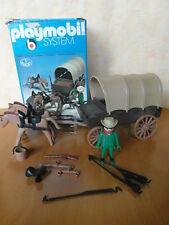 PLAYMOBIL KLICKY 3243 PLANWAGEN KUTSCHE COWBOY mit OVP