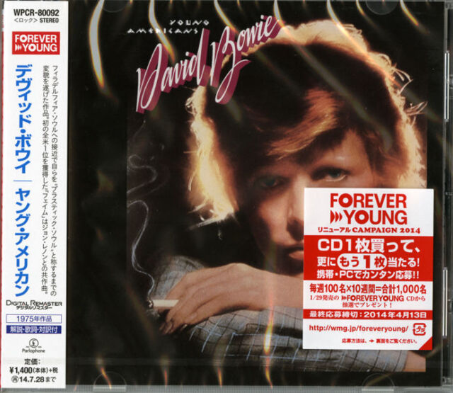 DAVID BOWIE-YOUNG AMERICANS-JAPAN CD C68