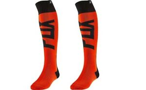 Fox-Racing-2020-Flo-Orange-Fyce-Fri-Thick-Sock-Motocross-MX-Off-Road-24026-824