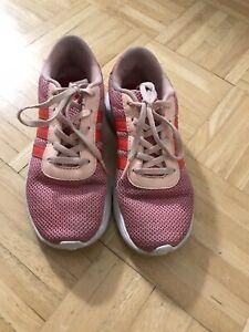 Details zu Adidas Sportschuhe Hallenschuhe Sneaher Gr. 35 Mädchen