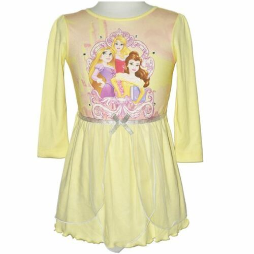NEW DISNEY PRINCESS BELLE,RAPUNZEL,AURORA TUTU DRESS NIGHTIE SIZE 3,4,5,6,7,8