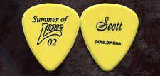HEART 2002 Summer Love Tour Guitar Pick!!! SCOTT OLSON custom concert stage #8