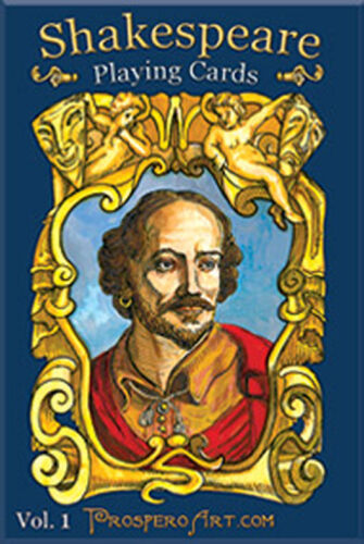 Shakespeare Playing cards Vol1 Brand New Sealed