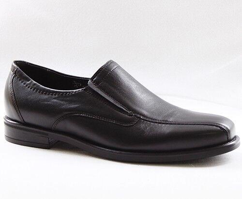 Rôdeur Henry Affaires Chaussures Hommes Pantoufles Chaussures Cuir Noir 319501-149-001