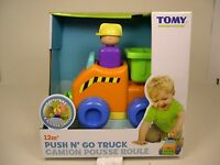 Tomy Produced Push N' Go Truck Plastic Toy Truck For Children Ages 12m+