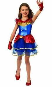Marvel Captain Marvel Girls Halloween Costume Tutu Dress Size M 8 10 Nwt Rubie S Ebay Captain marvel plus size jumpsuit halloween costume these pictures of this page are about:captain marvel halloween costume. ebay