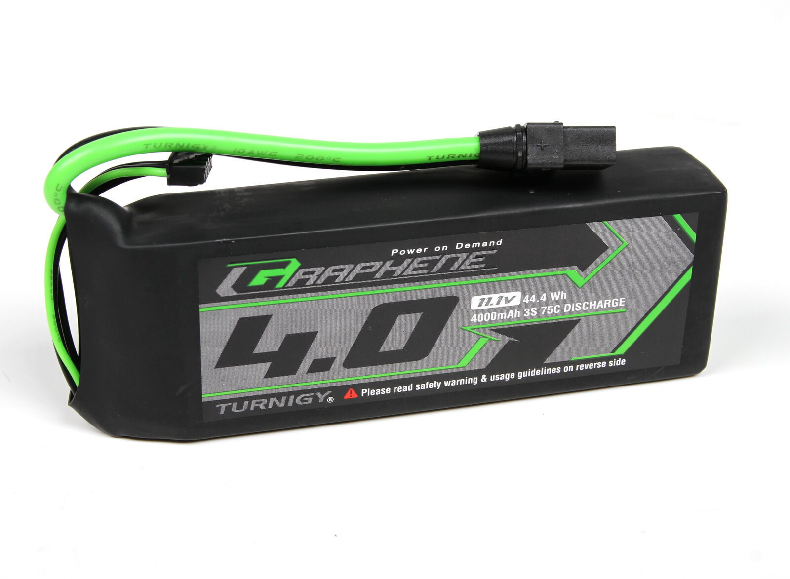 RC Turnigy Graphene Panther 4000mAh 3S 75C Battery Pack w XT90
