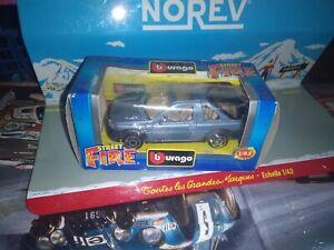 BURAGO-STREET-FIRE-1-43-FREELANDER-METALLIC-LIGHT-BLUE-NEUF-EN-BOITE