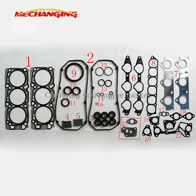 For Mitsubishi PAJERO MONTERO Sport V6 3.5L 4WD  SOHC 6G74 Metal Full Gasket Set