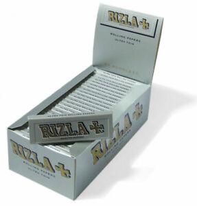 Cartine X Tabacco.Rizla Argento Con Filtri Per Sigarette Rollate Cartine Corte 100 Genuine Ebay