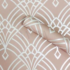 Waldorf-Deco-Papier-Peint-Paillette-Rose-Blanc-world-of-wallpaper-274416