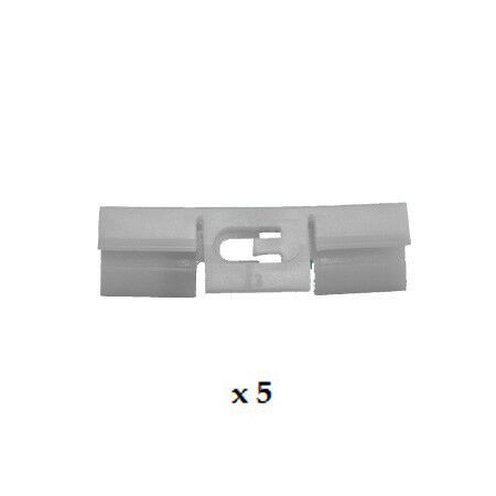 ROVER 600 1993-1999 WINDSCREEN SIDE BODY CLIP WHITE PACK of 5