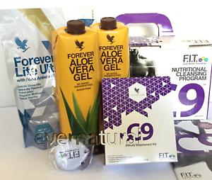 Clean 9 Forever Living Aloe Vera Detox Program / Vanilla