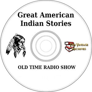Great-American-Indian-Stories-OTR-MP3-CD-Old-Time-Radio-Show