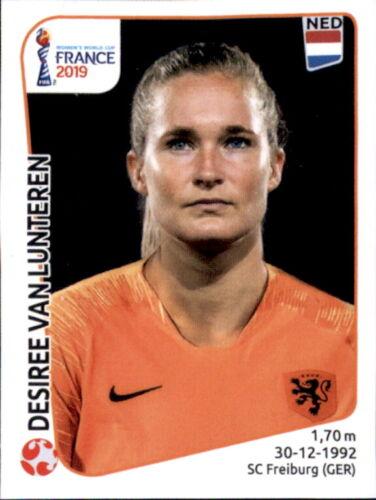 Desiree van Lunteren Panini Frauen WM 2019 Sticker 389 Niederlande
