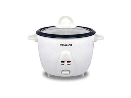 Panasonic SR-10FGS 1L 220 Volt Rice Cooker 5 Cup with Steaming Basket