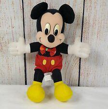 Mickey Mouse Plush Mattel Arco Toys Disney Stuffed Toy 10 inches Vintage