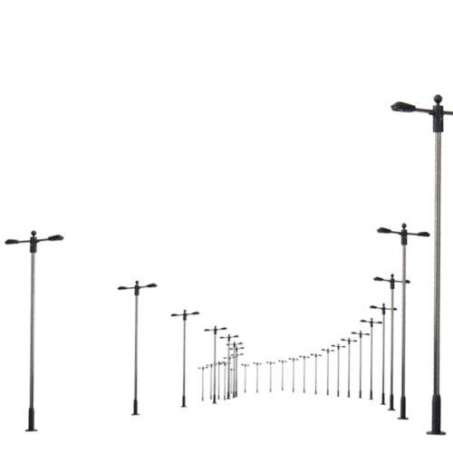 10 MODELLE LED BELEUCHTUNG POSTZUG METALLLAMPE GARDEN PARK STREET